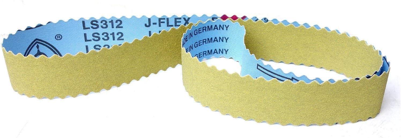 30x Klingspor Schleifband Gewebe Schleifbänder Messerschleifer 50x1500 mm