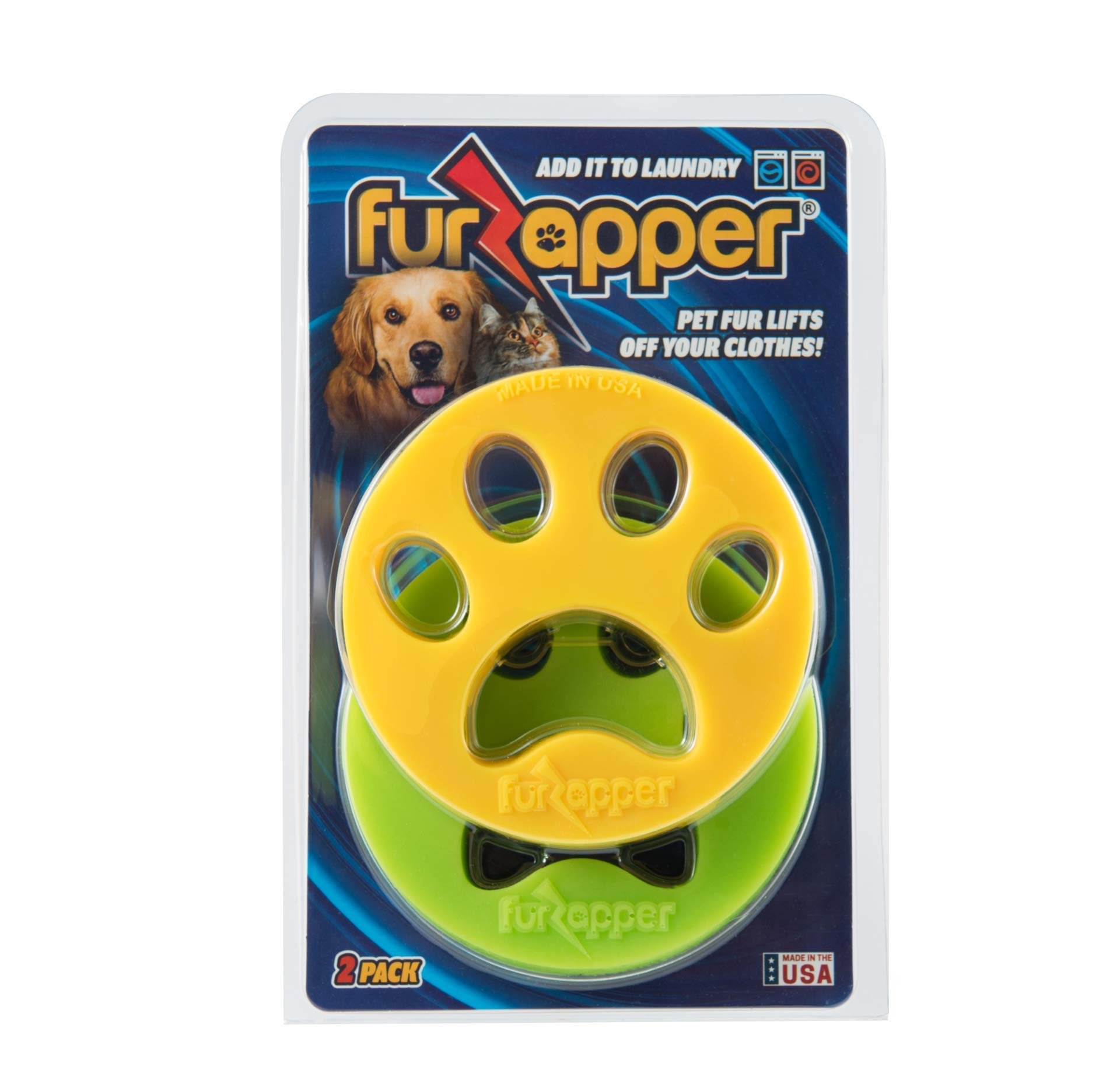 FurZapper 2 Pack (1 2 Pets) (With