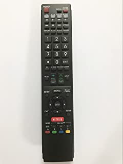 Replacement Remote Controller for GA935WJSA Sharp AQUOS LED HDTV TV