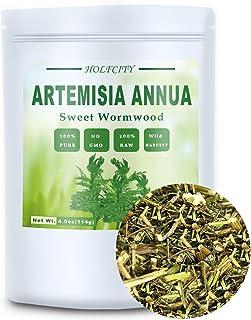 Natural Artemisia Annua, Dried Sweet Wormwood, Herbal Loose Leaves (4.0 oz)