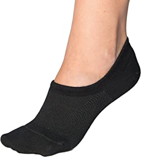 Bam&bü Women's Premium Bamboo No Show Casual Socks - 3 or...