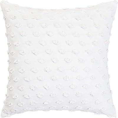 Dena Atelier Somerset W x 16 L Damask Embroidered Decorative Pillow 16 16 L