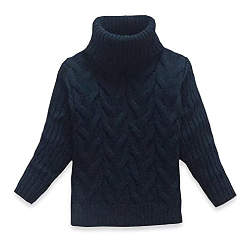 e5ce43e502174e OUYAJI Baby Boys Girls Long Sleeves high Collar Twist Sweater Keep Warm