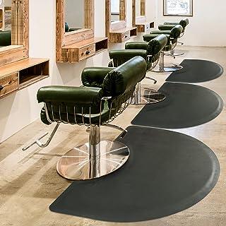 """حصیر صندلی آرایشگاه 3′x5 Mat تشک مخصوص کف ضد خستگی - تشک مخصوص سالن نیم دایره مشکی - تشک کف راحتی دفتر 1/2 """""""