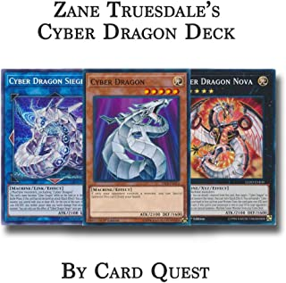 Yu-Gi-Oh! Zane Truesdale Complete Cyber Dragon Deck
