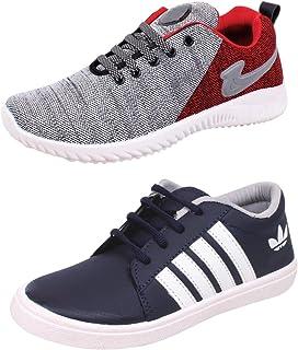 SKYMATE Boys' Sneaker (Set of 2 Pairs)