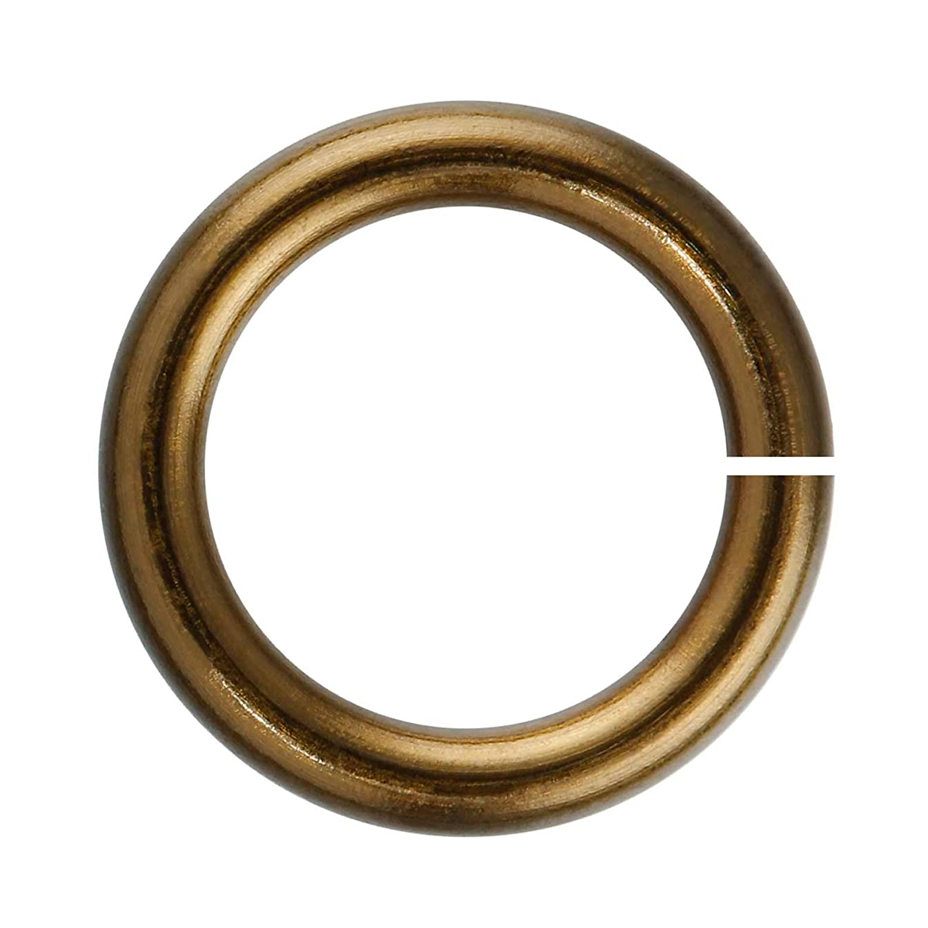18-Gauge 5.5mm Vintage Bronze Enameled Copper Jump Rings - 1 ounce