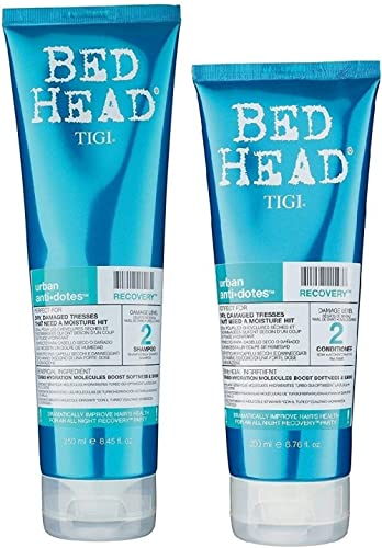 Tigi Bed Head Hair Care Recovery Competition Set, Shampoo 250 ml & Conditioner 200 ml
