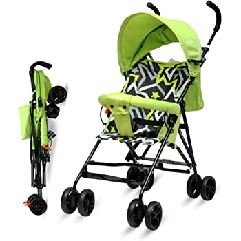 Little Pumpkin - Baby Stroller and Pram for Baby - Buggy for Kids (Green)