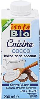 ISOLA BIO Crema Para Cocinar De Coco Bio, 200 Ml 21 g