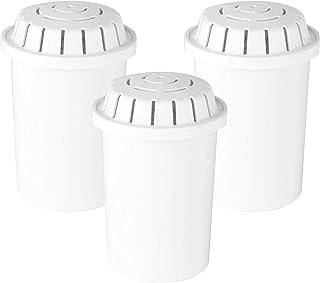 AVERA, Set de 3 Filtros de Repuesto para Purificador de Agua, Filtro de Cabrón Activado de Plata