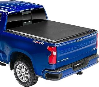 Lund Genesis Roll Up, Soft Roll Up Truck Bed Tonneau Cover | 96084 | Fits 2004 - 2007 GMC Sierra & Chevrolet Silverado 150...