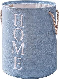 SUFUBAI 100 L Panier à linge en tissu avec poignées, sac à linge autonome pour vêtements et jouets