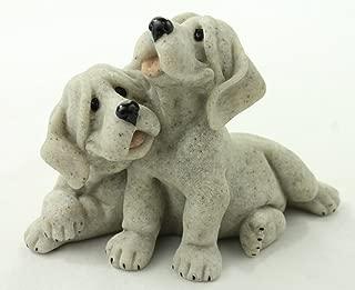 Quarry Critters Pebbles & Patch Dog Figurine
