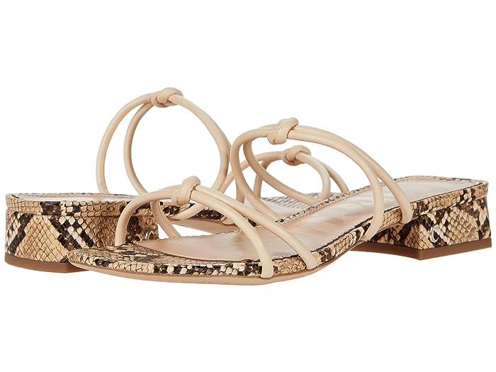 Circus by Sam Edelman  Jay (Summer Sand Fine Nappa/Savannah Snake) Womens Shoes