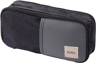 エレコム ポーチ バッグインバッグ アクセサリ/ガジェット収納 3ポケット ストレッチ素材 軽量 ブラック BMA-GP10BK