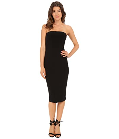 KAMALIKULTURE by Norma Kamali Strapless Dress (Black) Women