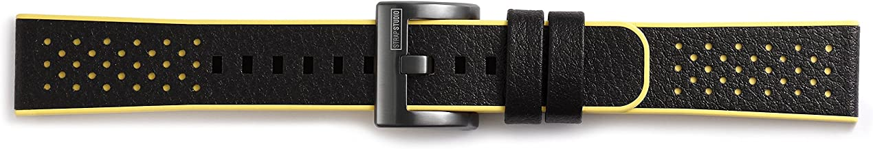 Samsung GP-R600BREEA Yellow Leather, Rubber - Samsung GP-R600BREEA, Yellow, Leather, Rubber, Black, 22 mm, 25 g
