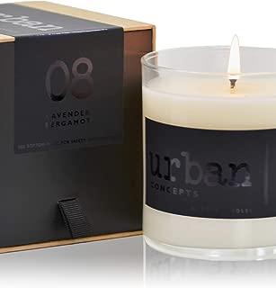 DECOCANDLES - Relaxation - Lavender, Bergamot & Oak Moss - 9 oz. - Soy Blend Jar Candle