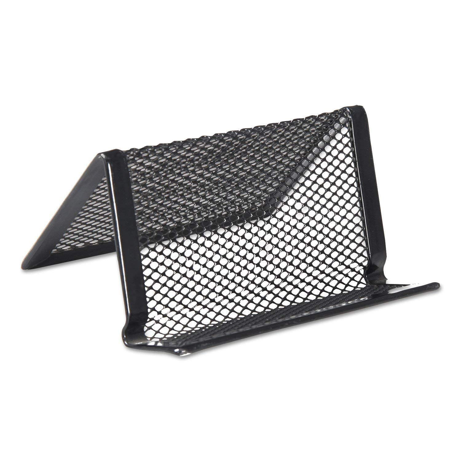 Universal One Deluxe Mesh Business Holder Each Fashion Card UNV20005 Large discharge sale Bl