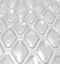 Midwest Canvas Clear Diamond 12-Foot-by-18-Foot Oval Solar Cover | 16 Mil | Heating Blanket for In-Ground and Above-Ground Swimming Pools