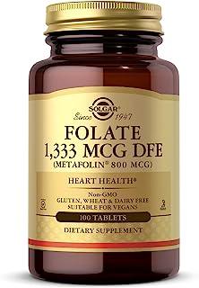 Folate 1,333 MCG DFE (Metafolin® 800 mcg) Tablets - 100 Count