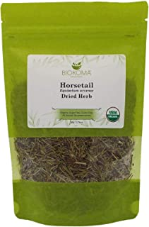 100% Pure and Organic Biokoma Horsetail Dried Leaves Natural Herbal Tea in Resealable Pack Moisture Proof Pouch 50g USDA C...