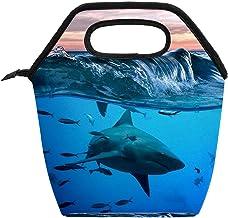 Przenośna torba na lunch duża pojemność pudełko na lunch torba na lunch opakowanie do biura pracy szkoły podróż piknik tor...