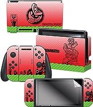 "Controller Gear Nintendo Switch Skin & Screen Protector Set Officially Licensed By Nintendo - Super Mario ""Piranha Plant""..."