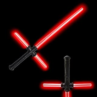 Fun Central LED Light Up Tri-Saber Sword Toy with Sound for Kids & Toddlers
