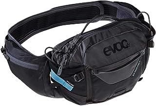 evoc Unisex Hip Pack Pro 3 L + 1, 5 L Bladder H Bolsa, Negro Carbón Gris, Talla Única EU