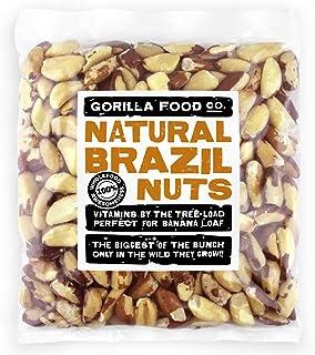 Premium Brazil Nuts Raw Whole - 2Lb Resealable Bag