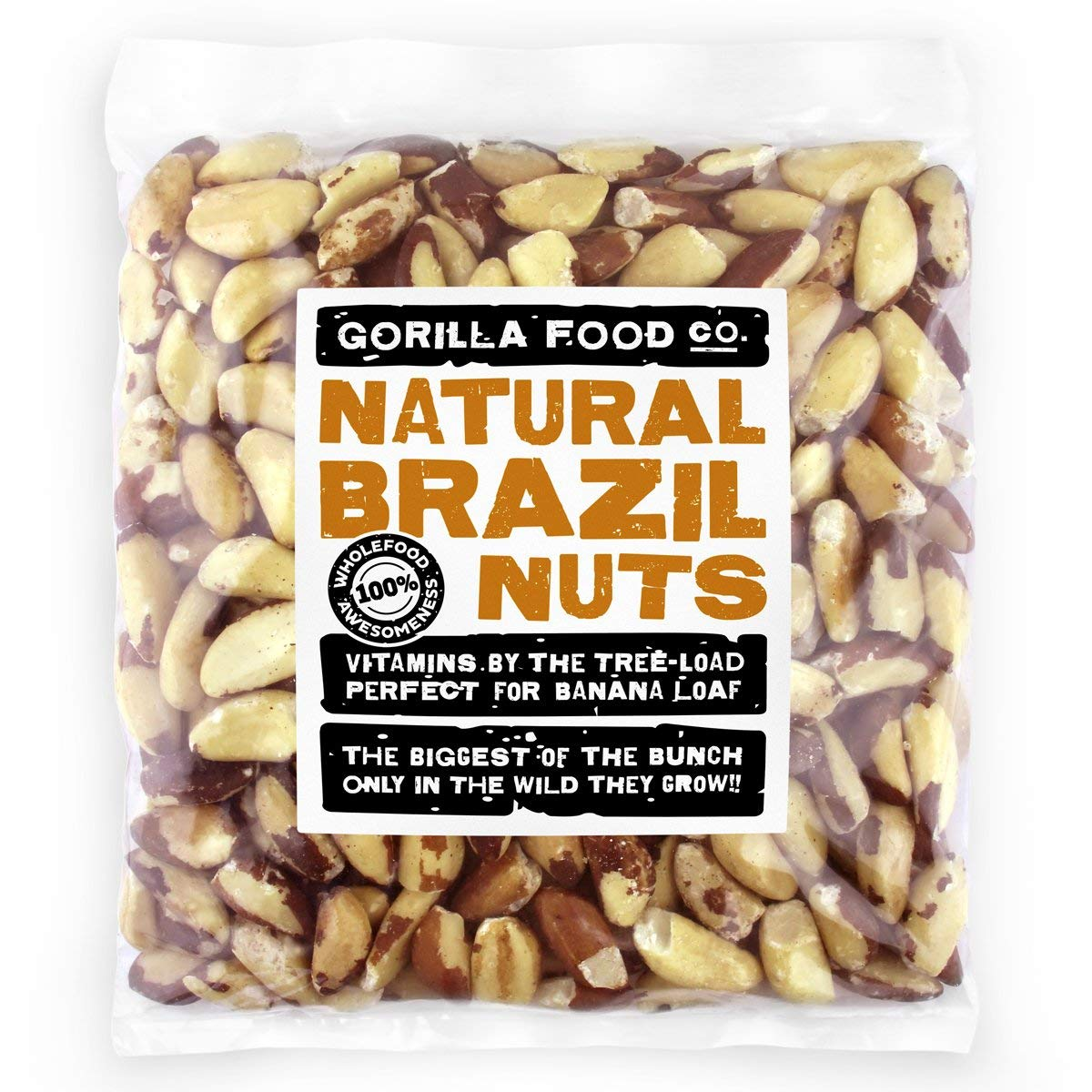 Premium Brazil Nuts Raw Whole Resealable Daily bargain sale 2Lb Bag - Ultra-Cheap Deals