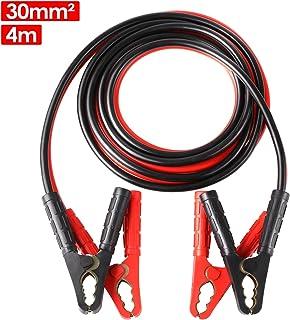 Cavo di avviamento 800A 2,3 m per auto cavo di avviamento con custodia per auto in rame 12 V 2 x 2,3 m