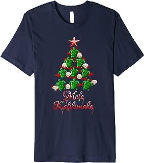 Mele Kalikimaka Hawaiian Beach Christmas T-Shirt