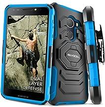 T-Mobile REVVL Case, Evocel [New Generation Series] Belt Clip Holster, Kickstand, Dual Layer for T-Mobile REVVL (5049W) / Fierce 2017 A30 (Does NOT FIT REVVL Plus/REVVL 2), Blue