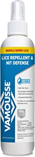 Vamousse Lice Repellent and Nit Defense, 8 Fluid Ounce