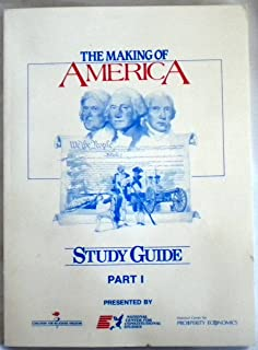 The Making of America: Study Guide Part 1