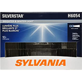 SYLVANIA - H6054 SilverStar Sealed Beam Headlight - High Performance Halogen Headlight Replacement (142x200), Brighter & Whiter Light for Added Clarity Downroad and Sideroad, (Contains 1 Bulb)