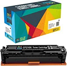 Do it Wiser Compatible Toner Cartridge Replacement for HP 131A CF210A CF210X HP Laserjet Pro 200 Color M251nw MFP M276nw M251n M276nw Canon MF8280Cw 7100CN 7110CW LBP7100C (Black)