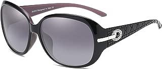 DUCO サングラス レディース uvカット uv400 偏光 レンズ ファッションなデザイン sunglasses women 紫外線カット 6214