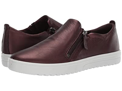 ECCO Fara Slip-On (Fig Metallic Cow Leather) Women