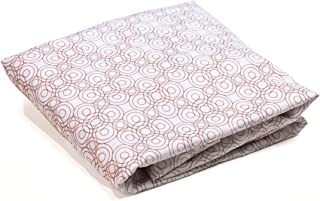 Bloom Alma Papa Lollipop 2-Piece Fitted Sheets, Henna Brown, 2 Count