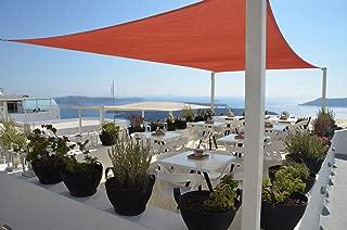 SUNNY GUARD 12' x 16' Terra Rectangle Sun Shade Sail UV Block for Outdoor Patio Garden