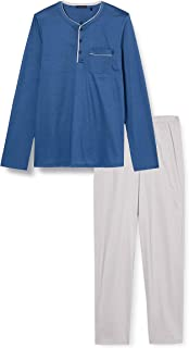 Schiesser Men's Schlafanzug Lang Pyjama