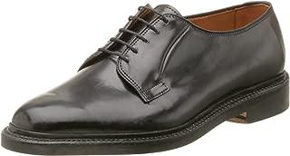 Allen Edmonds Men's Leeds Genuine Shell Cordovan Plain Toe Oxford,Black,10 B US