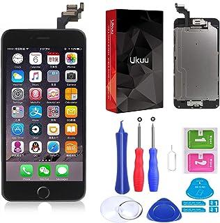 bd010fe7534 ukuu Touch Screen para iPhone 6plus Cristal Pantalla + LCD Pantalla montado  [con Home Botón