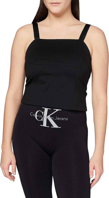 Calvin Klein Milano Logo Strap Camisole Camisa para Mujer