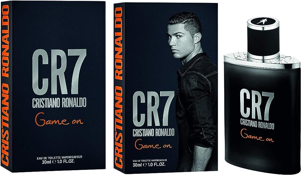 Cristiano ronaldo cr7 game one, eau de toilette,profumo per uomo, 30 ml CR770089