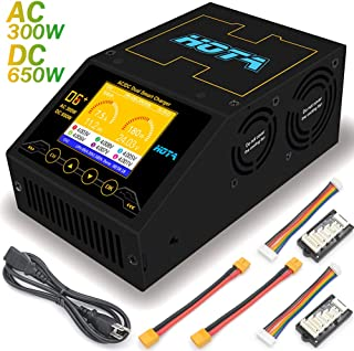HOTA D6+ AC 300W DC 2X325W 2X15A Dual Channel Smart Lipo Battery Charger Discharger